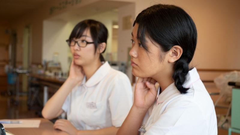 豊和病院で1日看護体験を行いました(1日目)