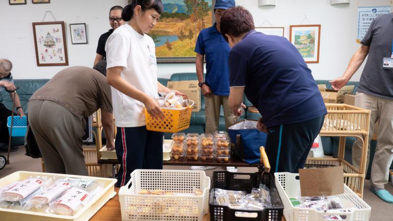 介護老人保健施設鳥羽豊和苑に身障者就労センター上々さんが訪問販売に来てくださいました!