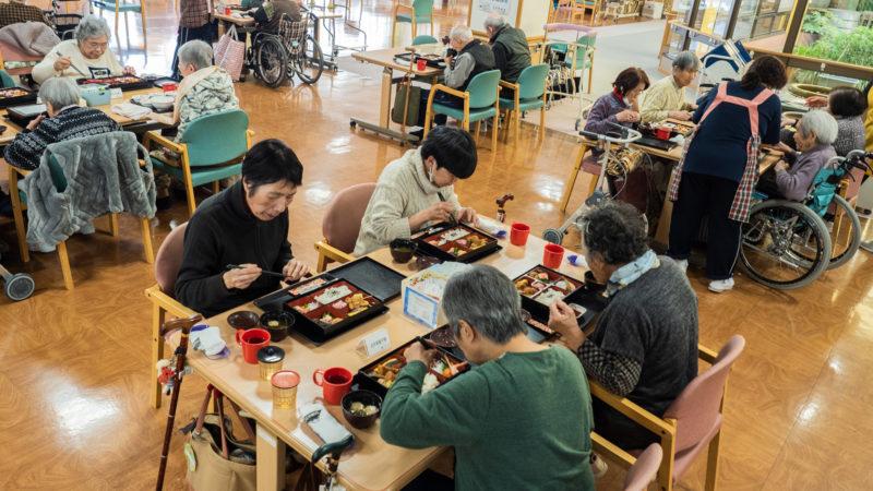 志摩豊和苑で旬を味わうイベント食「松花堂弁当」をご提供しました!