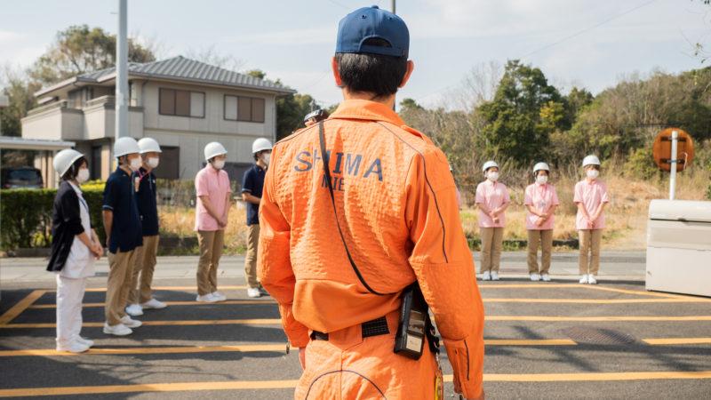 在宅総合センター豊和で消防訓練を行いました!