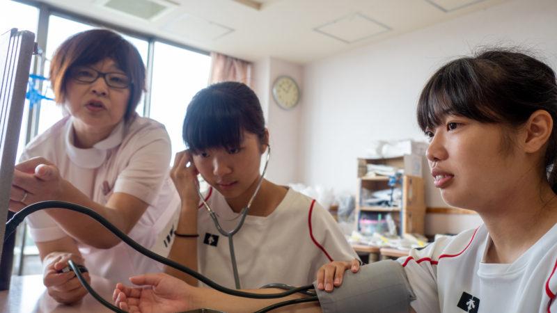 豊和病院と在宅総合センターに志摩高校生が職場体験にやってきました!