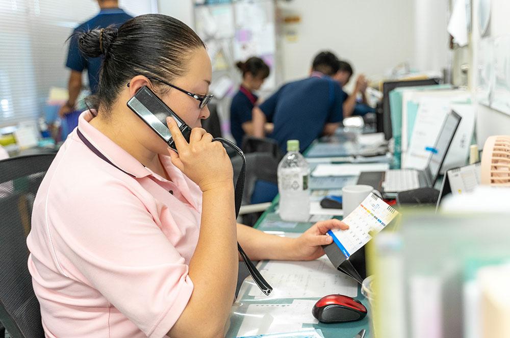 訪問看護ステーション豊和-職員の特色
