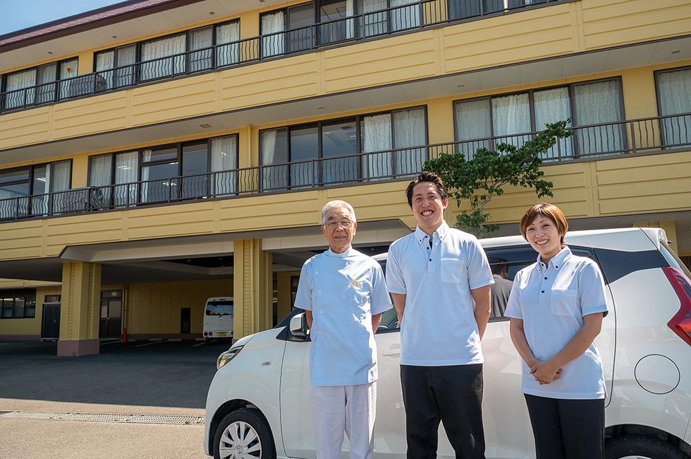 訪問リハビリテーション志摩豊和苑-職員の特色