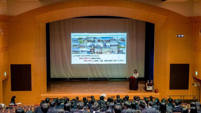 三重県立志摩高等学校の企業説明会に講師として参加しました!